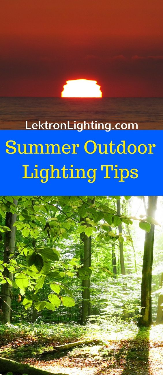 Summer is the perfect time to spend nights outdoors, you just need some of the best outdoor lighting tips to ensure it's safe and beautiful.