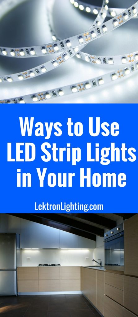 20 led light strip ideas for your home lektron lighting use some of the best light strip ideas to turn your space into something new and aloadofball Image collections