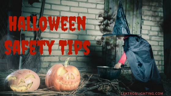 How To Use Lights To Stay Safe on Halloween