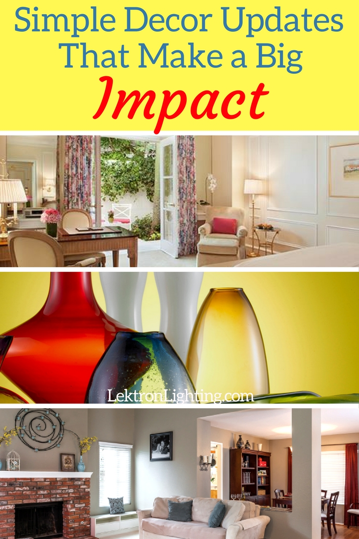 Simple decor updates that make a big impact in your home can be used at your discretion and to make the impact in any way you want.