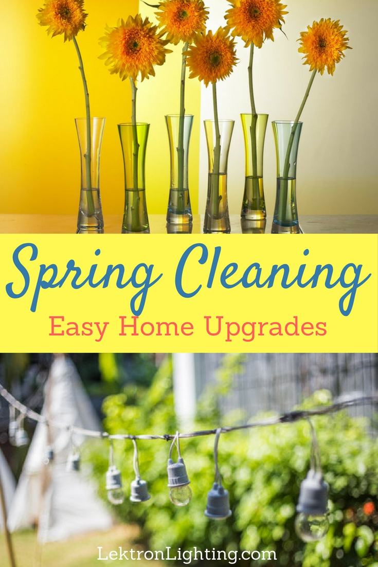 These easy spring cleaning home upgrades won't take much time or money and will take your spring cleaning to the next level.