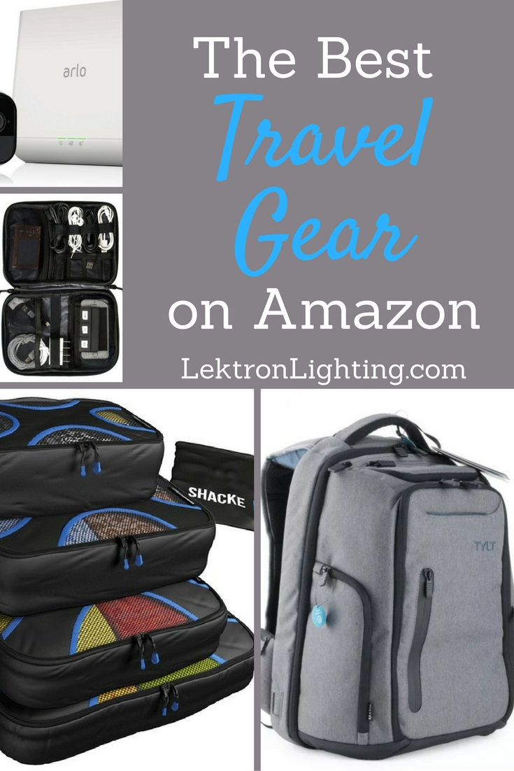The best travel gear can be found on Amazon and can help your travels easier, more fun, and possibly even more memorable.