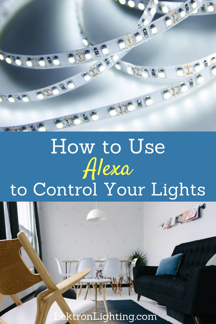 When you find out how to use Alexa to control your LED smart lights you'll never want to touch a light switch again and only use your voice.