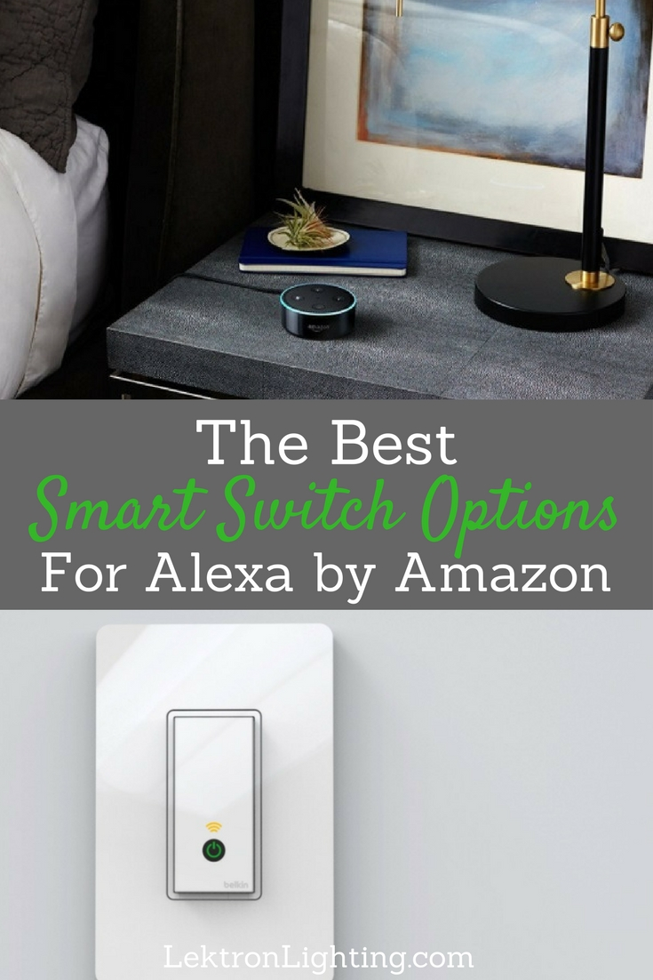 Once you have the best smart light switch options for Alexa you can choose which one fits your needs the most and get a smart home started.