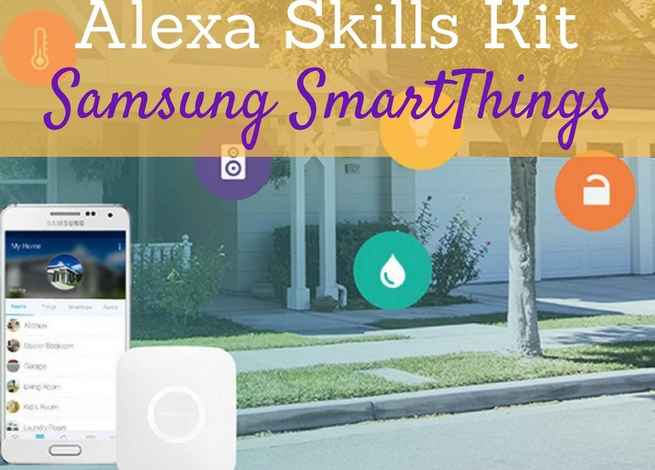 Alexa Skills Kit for SmartThings