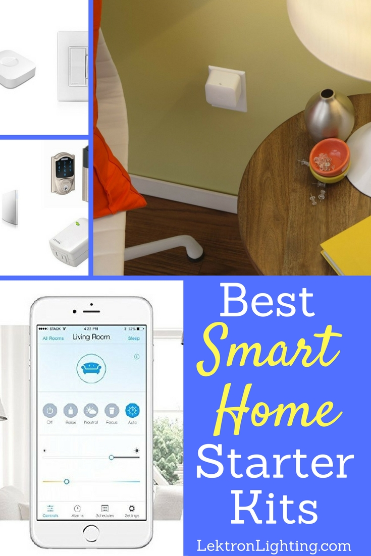 Smart home starter kits can help you build out your smart home with Alexa in the center without having to use a lot of effort.