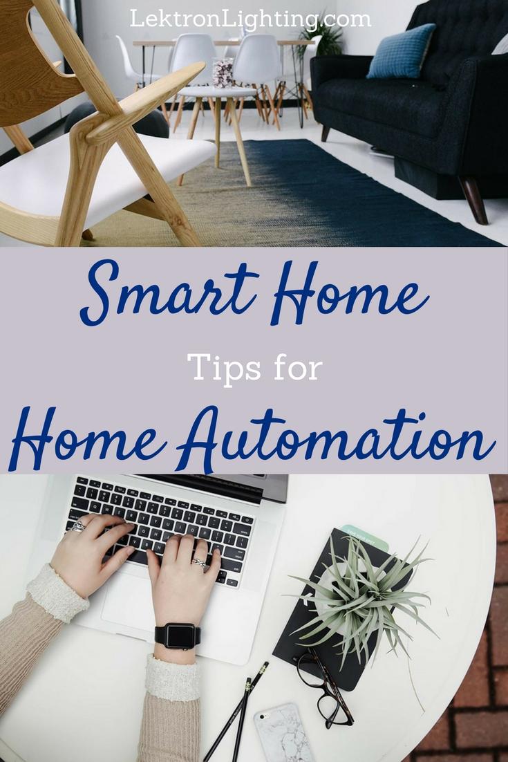 Smart Home Home Automation Ideas - Lektron Lighting
