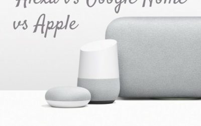 Alexa vs Google Home vs Apple