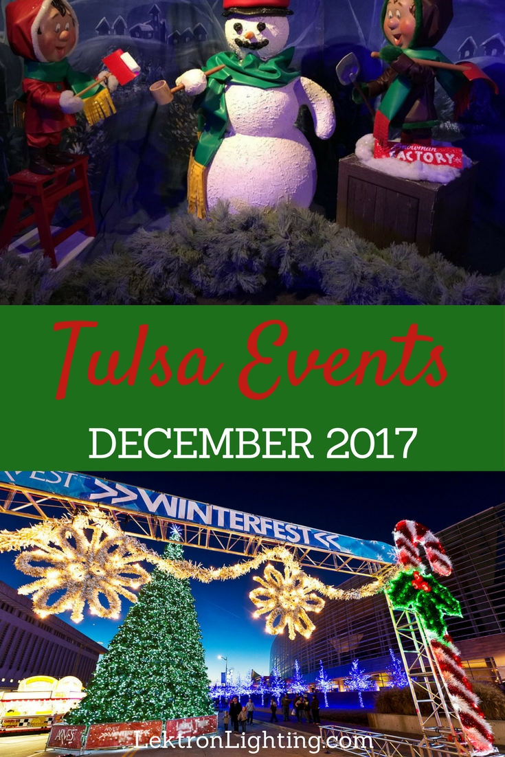 December 2017 Tulsa Activities are filled with holiday magic around every corner for the families and friends in, and around the city.