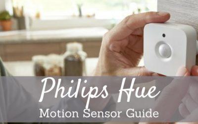 Philips Hue Motion Sensor Tips