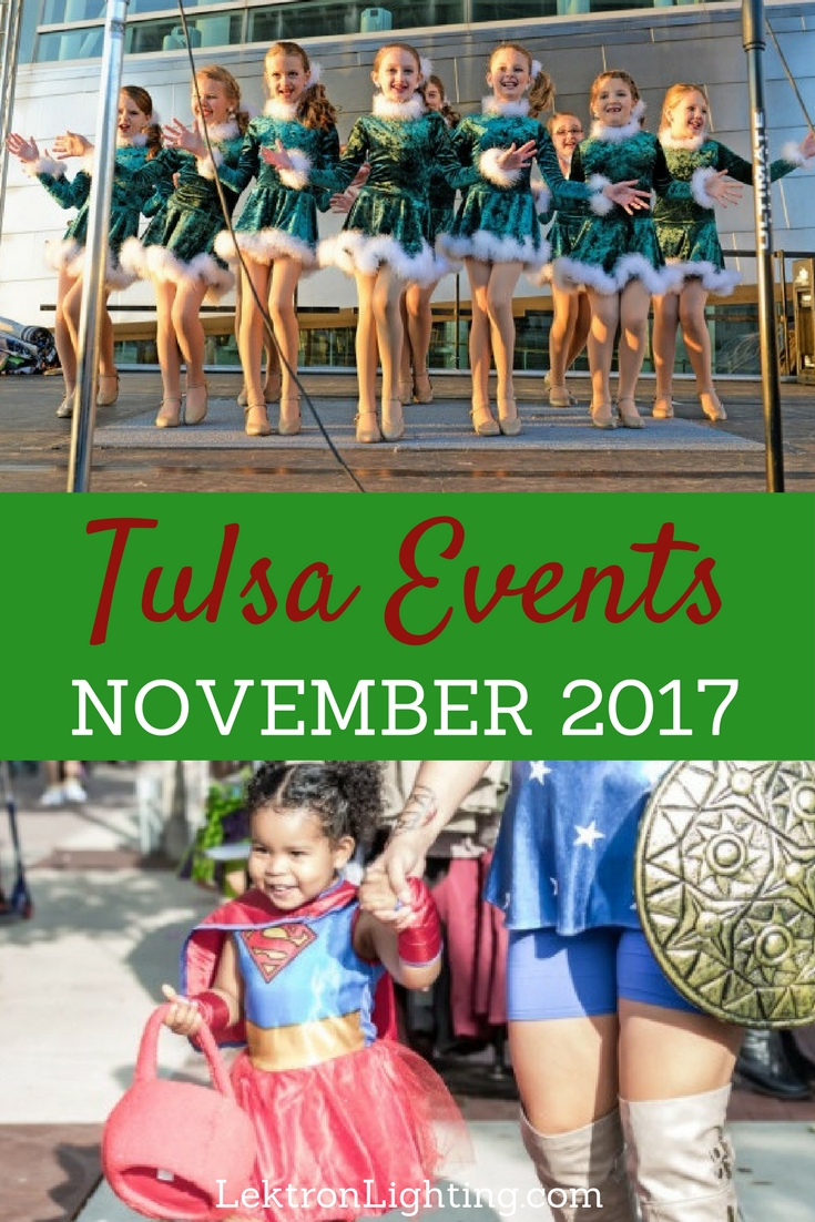 The are plenty of things to do in Tulsa for families during November as the whole city is preparing for the biggest holidays of the year.