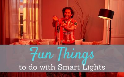 5 Fun Things to Do with Smart Lights