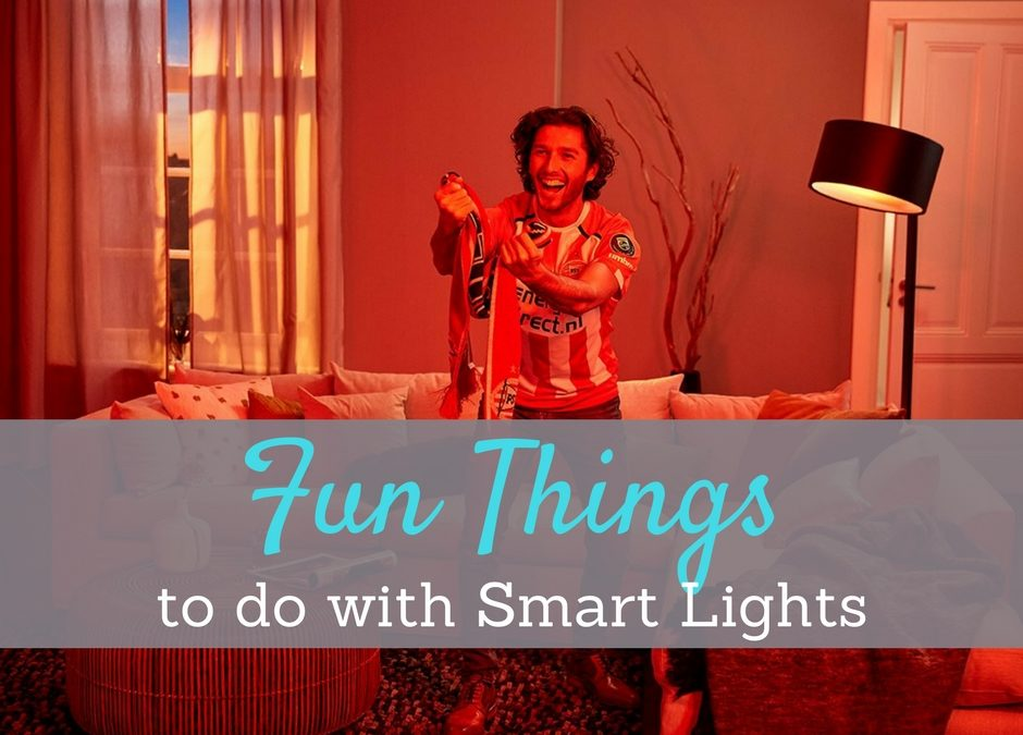 Use some of the more fun things to do with smart lights to entertain during a party, make a movie even better, or just set the mood for whatever you need.