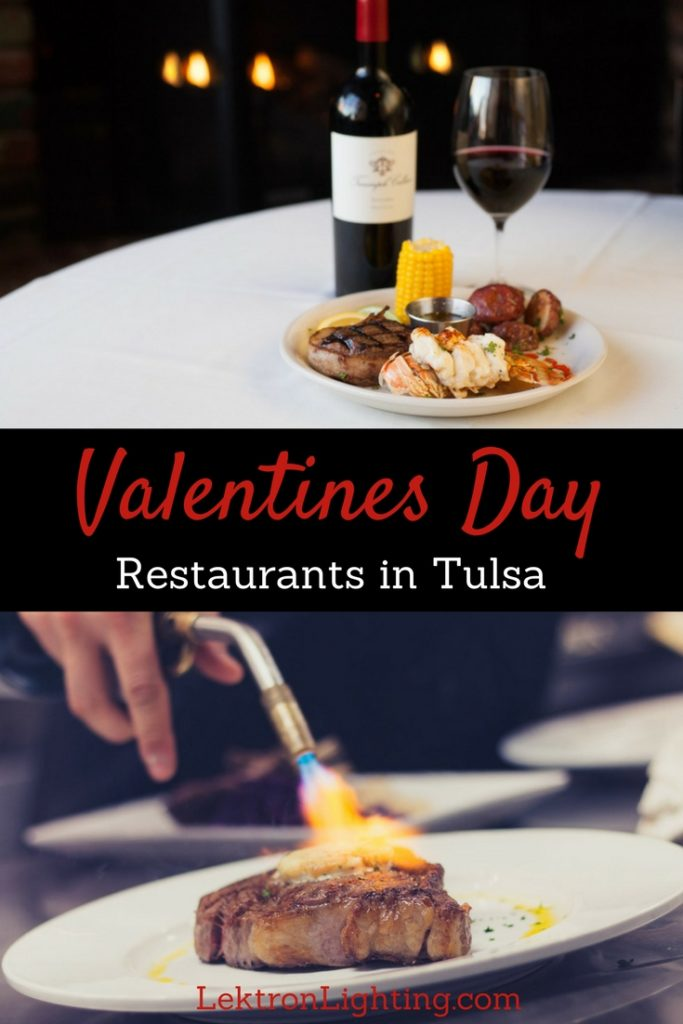 Once you find the best Valentines Day restaurants in Tulsa, pick your favorite and make a reservation before they fill up.