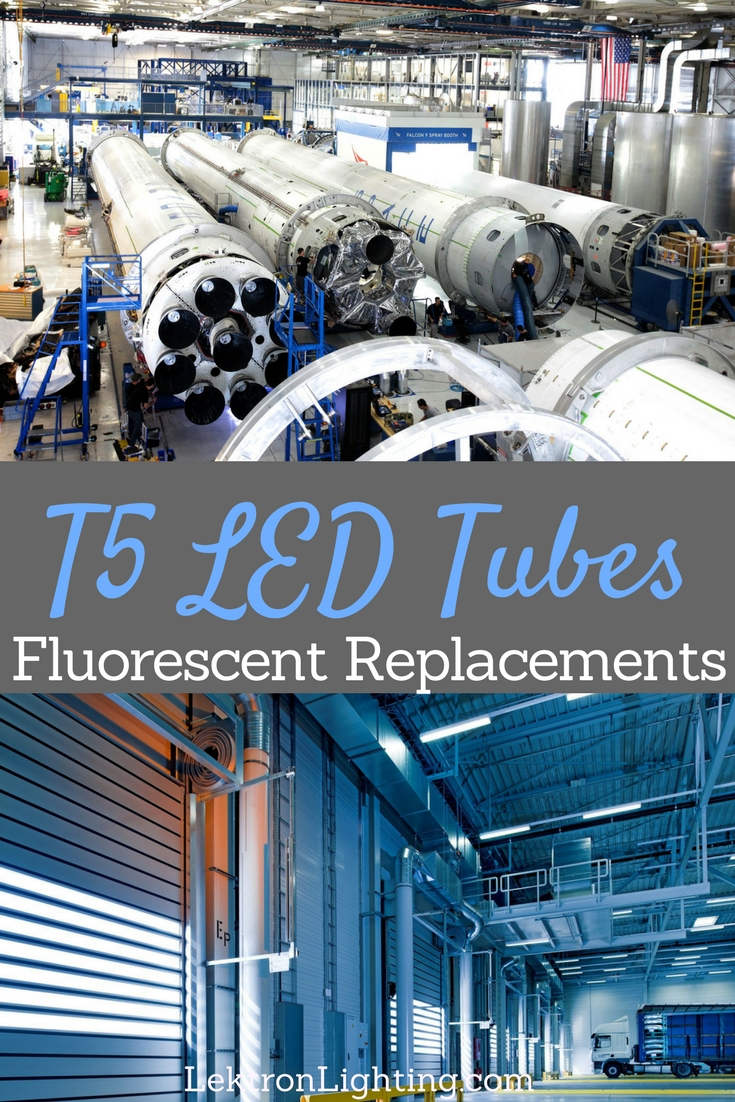 T5 LED tubes can replace smaller fluorescent bulbs in many different situations but knowing which situation they work in is important.