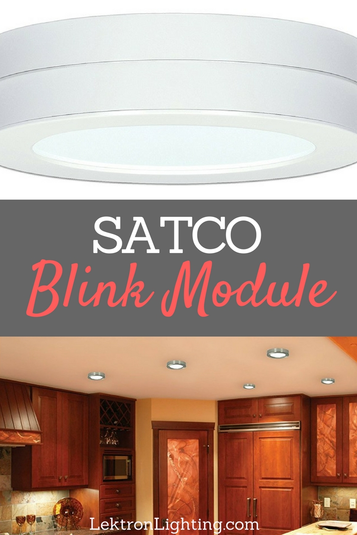 The Blink S9344 Battery Backup Module is made for flush mounted LED fixtures to keep the light shining brightly even during a power outage.