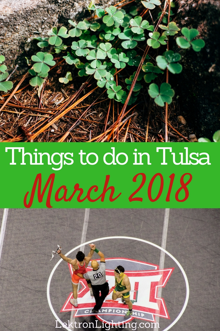 There are always things to do in Tulsa but mother nature plays a big role in the March 2018 things to do in Tulsa that everyone can enjoy.