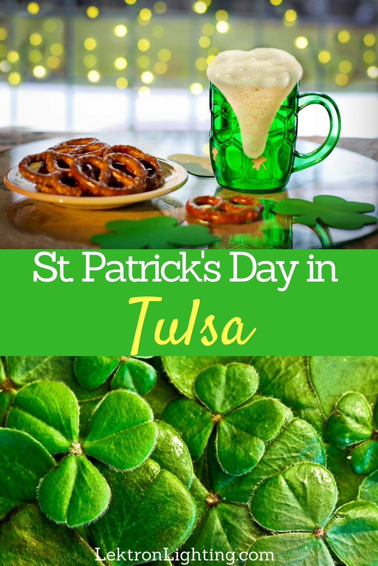 Don't forget to wear something green as you head out for St.Patrick's Day in Tulsa. You wouldn't want to come home with pinch marks on your arm.