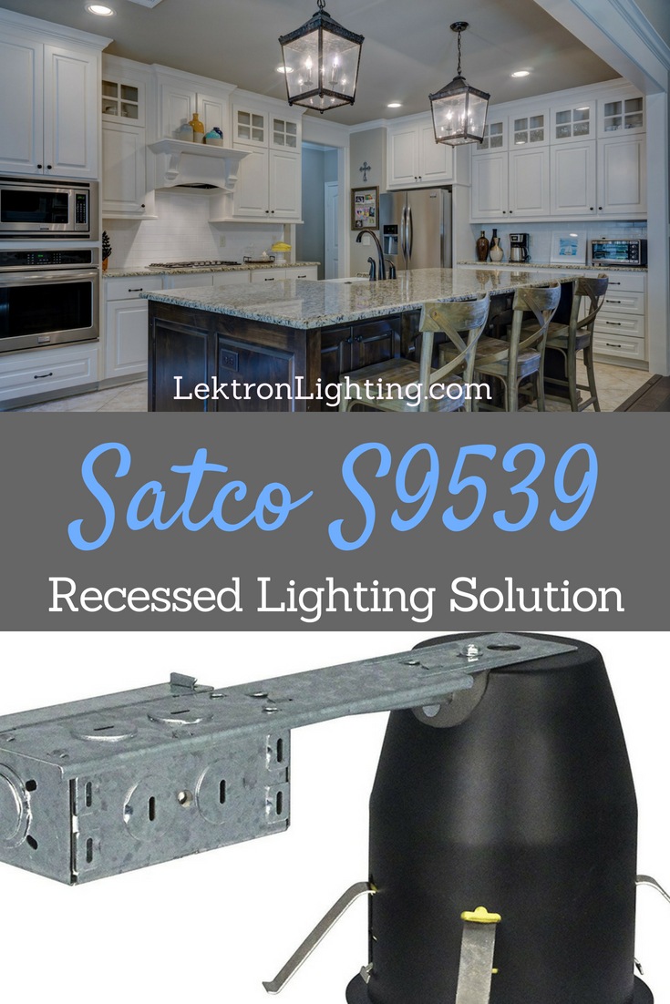 "The Satco S9539 is a 4"" can lighting solution that is intended for remodeling recessed housing in many different situations."