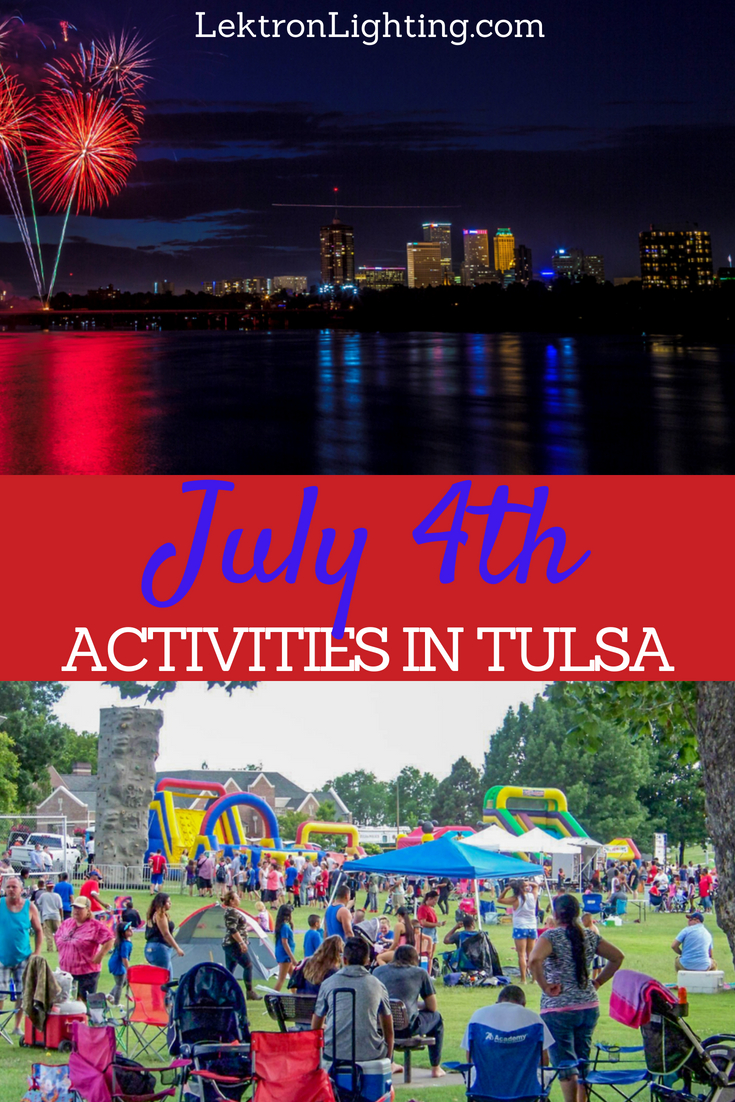 Finding the very best July 4th activities in Tulsa is easy because they are all big events that are hard for anyone to avoid.