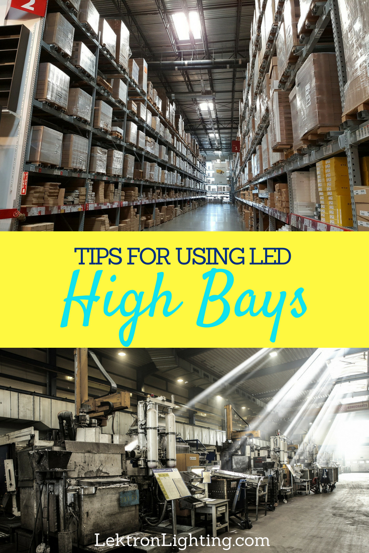 Use the best LED high bay replacement tips to stop the financial bleeding that most high bay lighting can cause for businesses and schools.