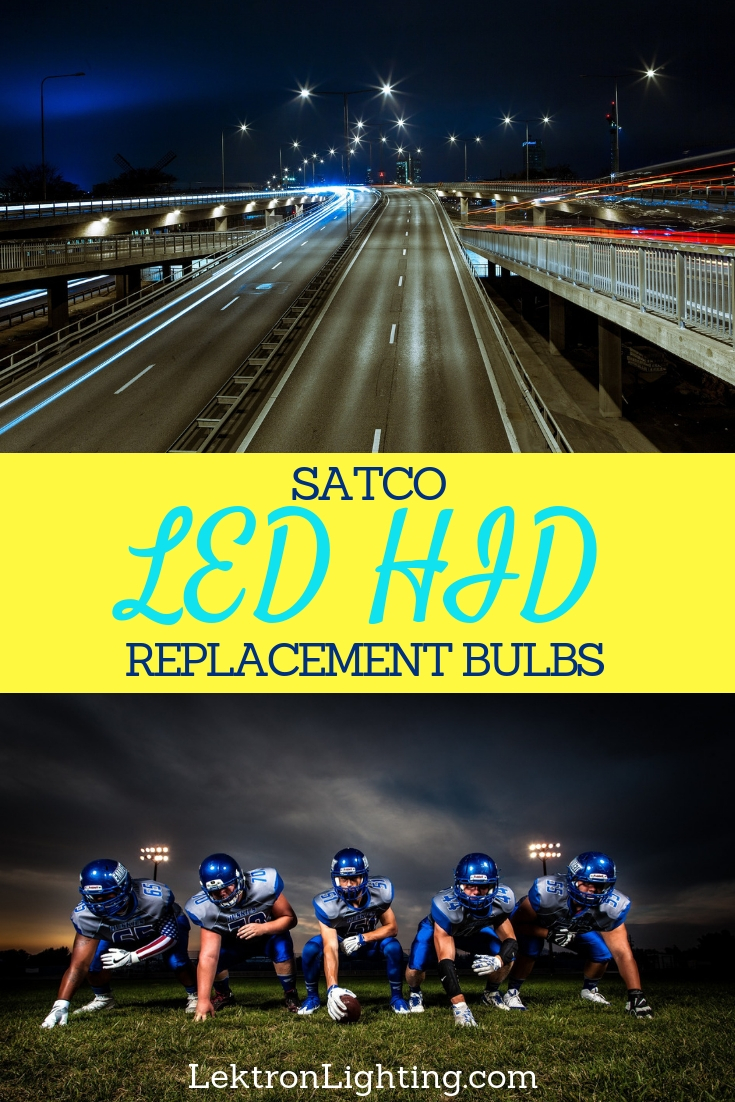 Use Satco LED HID replacement bulbs to get the power you need without the costs of energy you're familiar with at home or at your business.