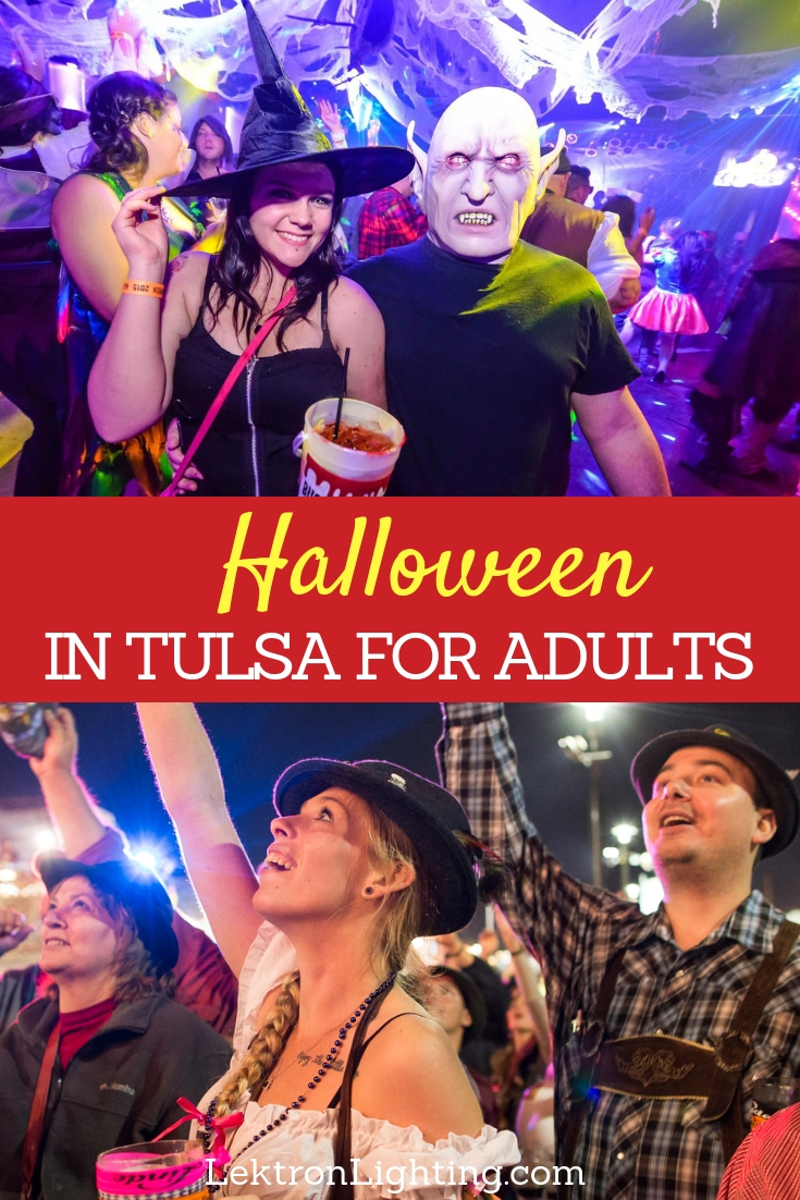 Kick off the holiday season the right way at one of the best 2018 Halloween events for adults in Tulsa, you won't regret it.