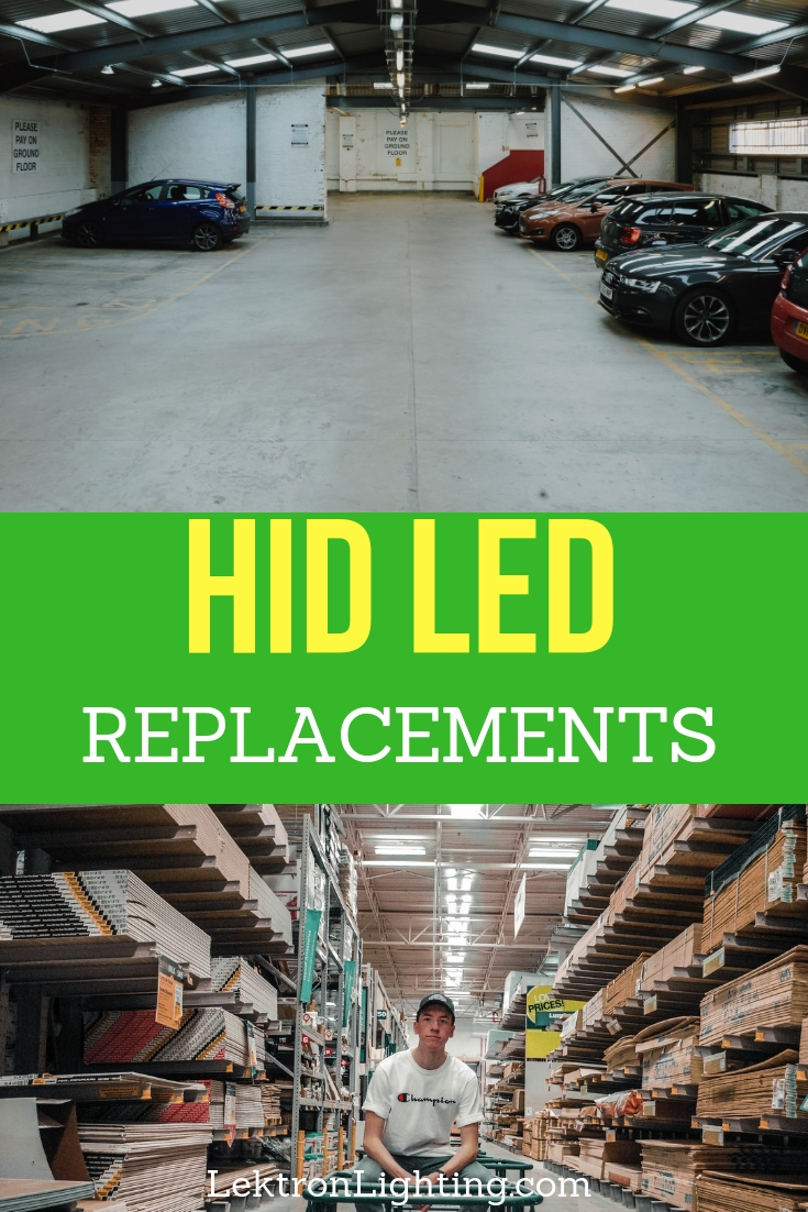 Use HID LED replacements to provide safer, high powered lighting in many different situations from your warehouse lighting to the headlights on your car.