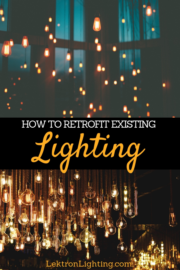 Learn how to retrofit existing lights in your home or business in order to advance technology, save money, and make life easier.