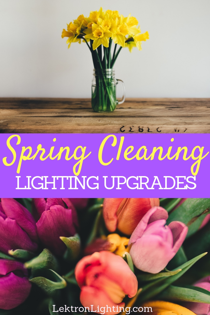 Many wonder how to add lighting upgrades to spring cleaning but wonder no longer, and remember it is easier than you may think.