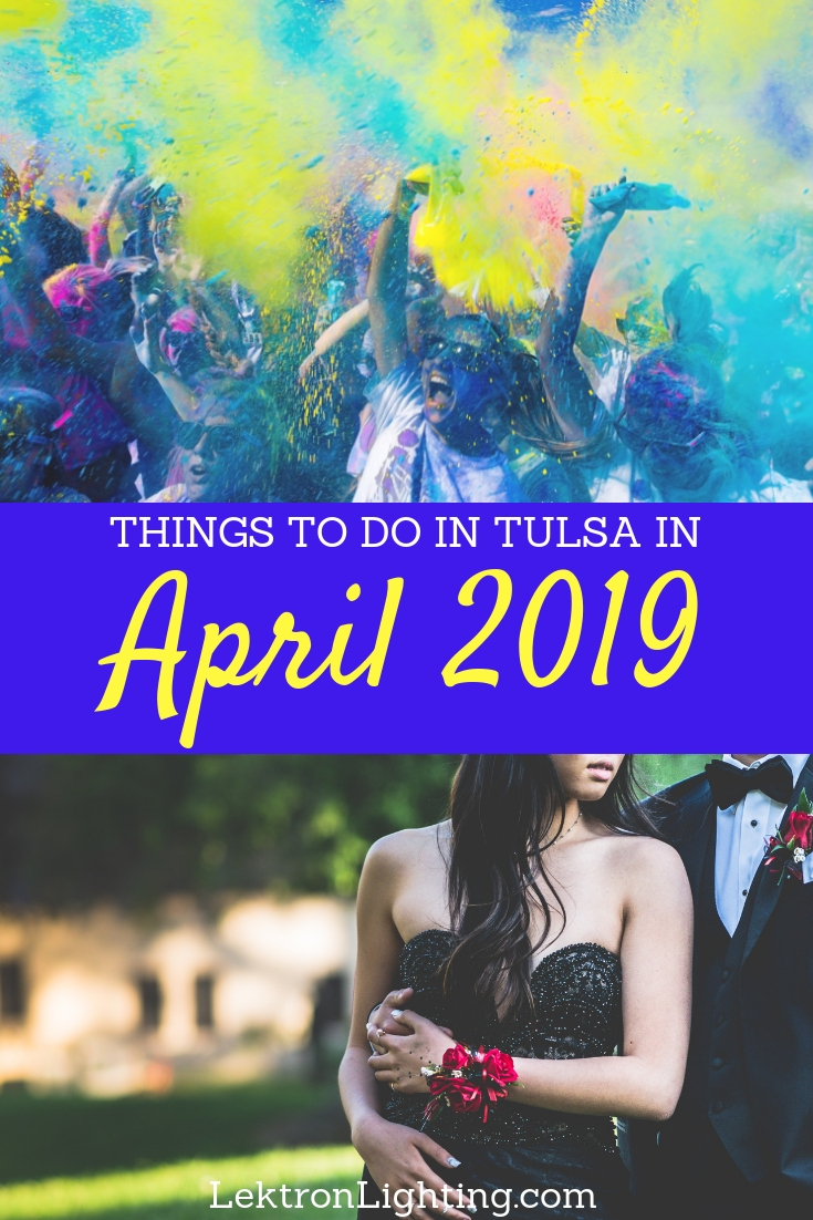 Enjoy what you can of springtime in Tulsa at one of the many things to do in April 2019 in Tulsa with your family and friends.