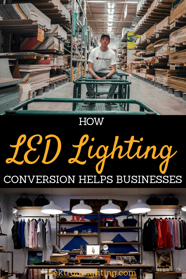 Find out how LED lighting conversion helps businesses do what they do best, succeed in providing jobs, making money, and staying strong.