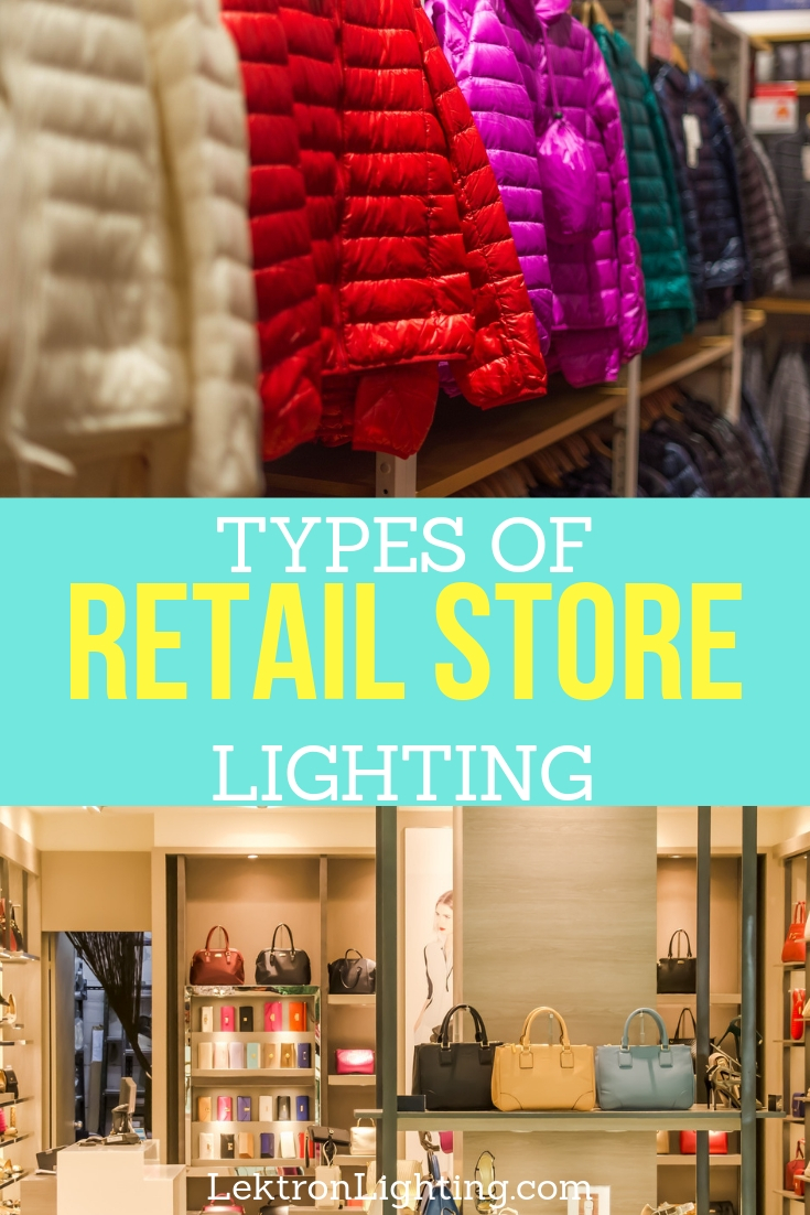 It's simple to understand the different types of lighting used in retail locations and once you understand it, you can take advantage of it.