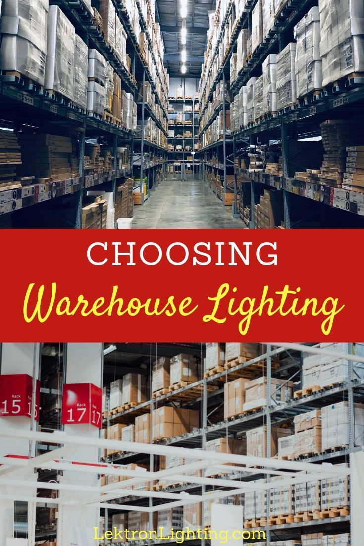 Choosing the most efficient warehouse lighting is easier than you may think and the power of LED lighting makes that possible.