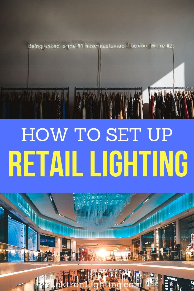 Discover how to set up retail lighting only after fixture placement has been figured out and LED bulbs have been utilized.