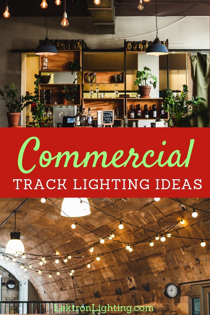 You can take advantage of the best commercial track lighting ideas to add flair to your store, customization to your business space.