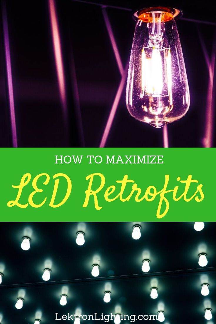 You can learn how to maximize LED retrofits so that you get the most return on your investment in LED lighting at home or at your business.