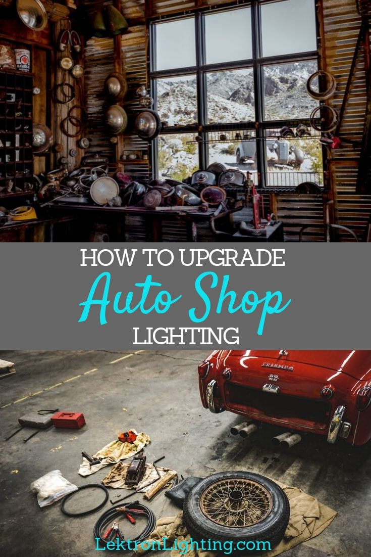 You can learn how to upgrade auto shop lighting using the best Satco Fluorescent LED bulbs that will distribute brighter light.
