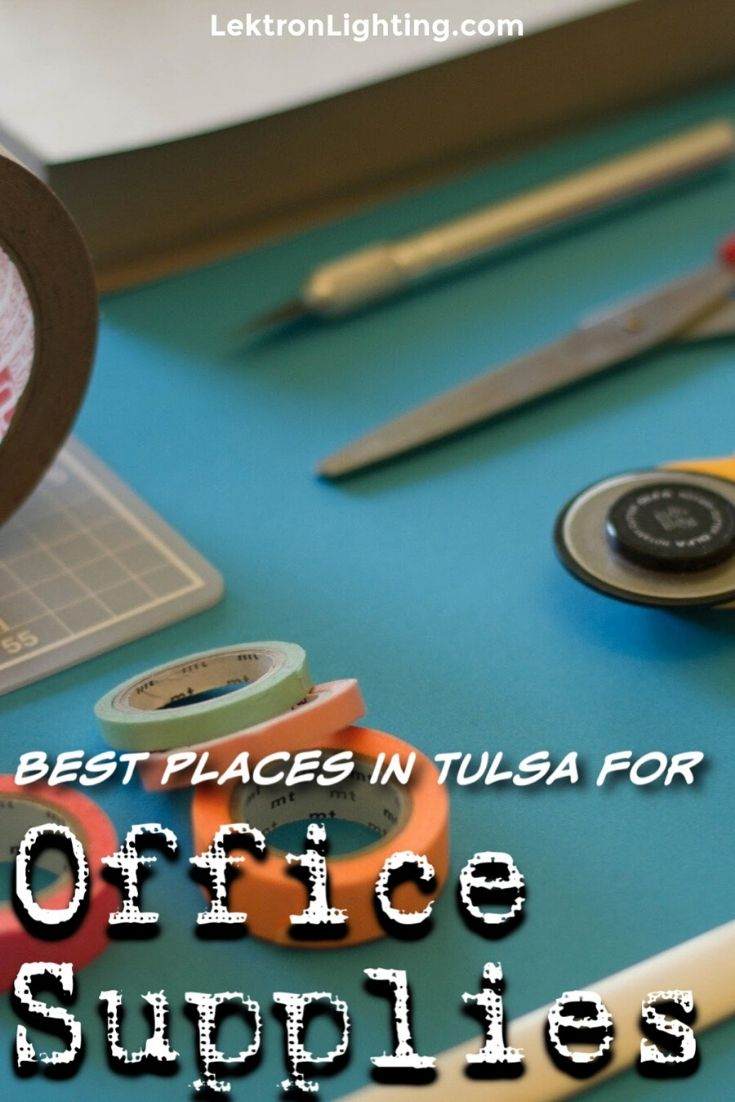 The best office supply stores in Tulsa can help you run your business without upsetting your bottom line and making everything easier.