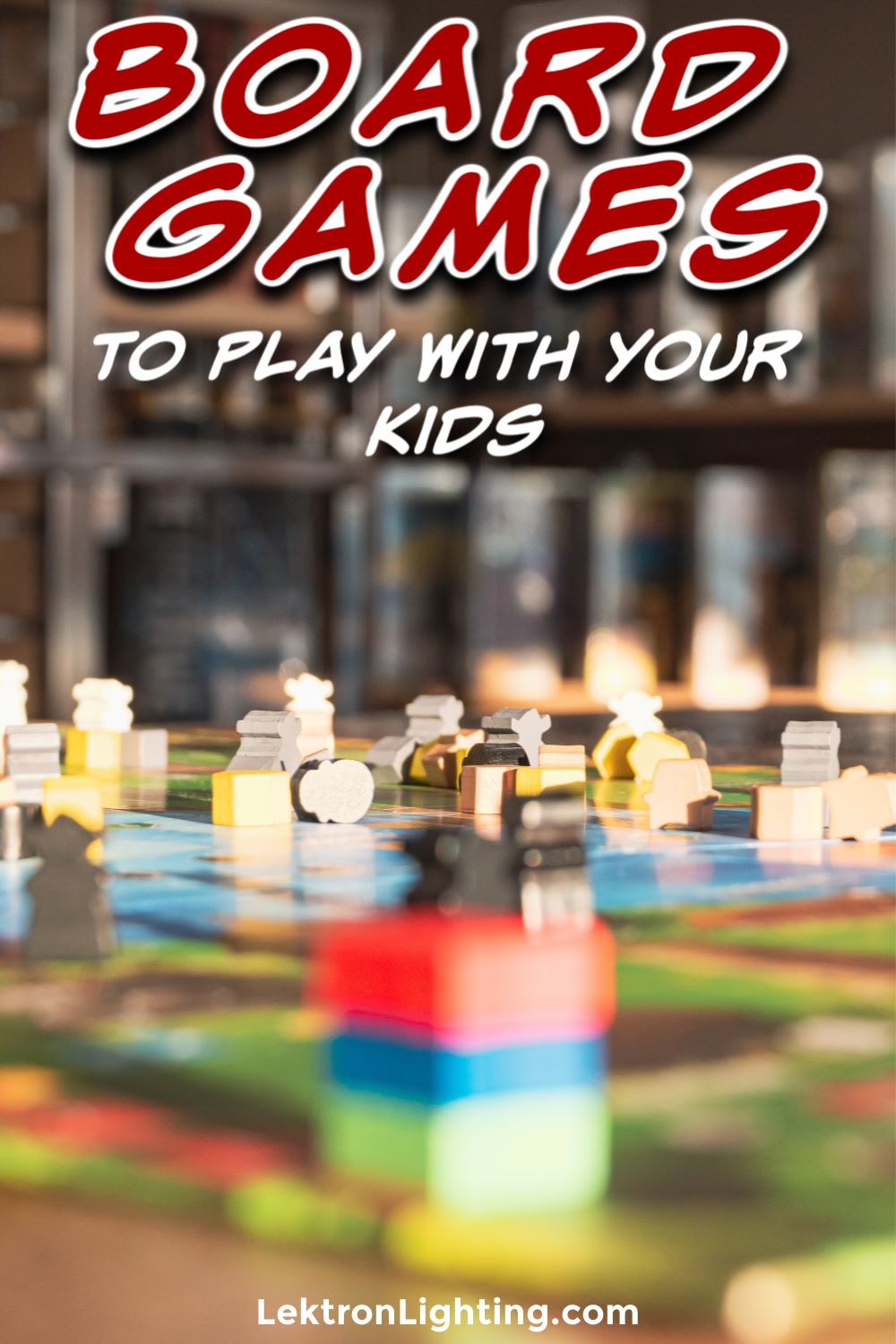 Spend time with your kids inside with some fun board games you can play with your kids to keep them entertained and learning.