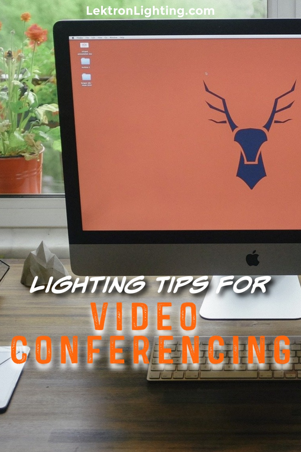 The best lighting tips for video conferencing can help you look your best while working from home using a laptop or desktop computer.