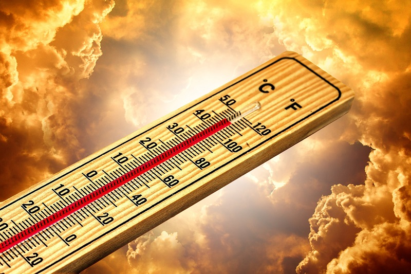 Ways How to Save Money with a Smart Thermostat in Summer Thermometer Heating Up