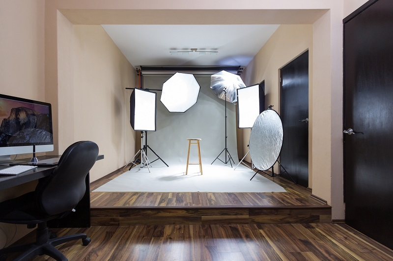 LED Lighting Kit Tips Studio with Lighting