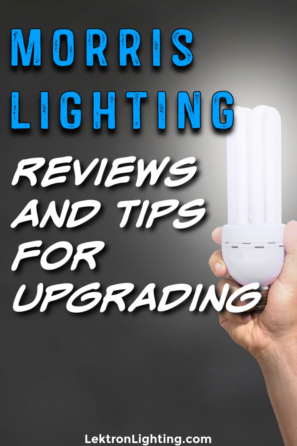 Finding Morris Lighting reviews is a good way to decide how to utilize lighting in your business before making a final purchase.