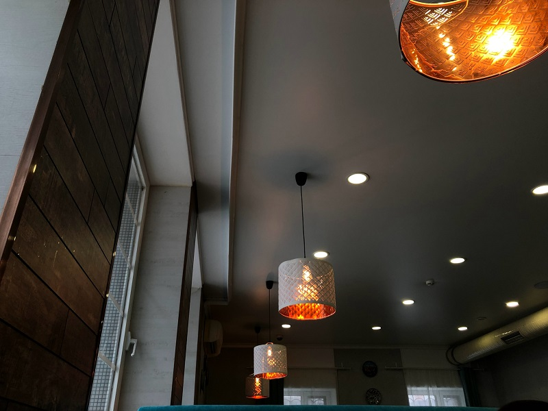 Recessed Lighting for Sloped Ceilings Recessed Lighting Mixed with Pendant Lighting