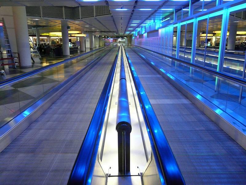 Morris Lighting Installation Ideas Blue Lit Pathway