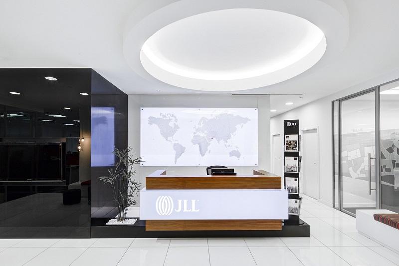 Morris Lighting Installation Ideas Front Desk at an Office Building