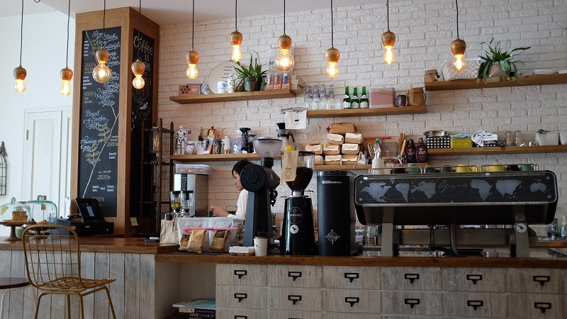 Winter Retrofitting Tips for Business Coffee Shop with Haning Lights