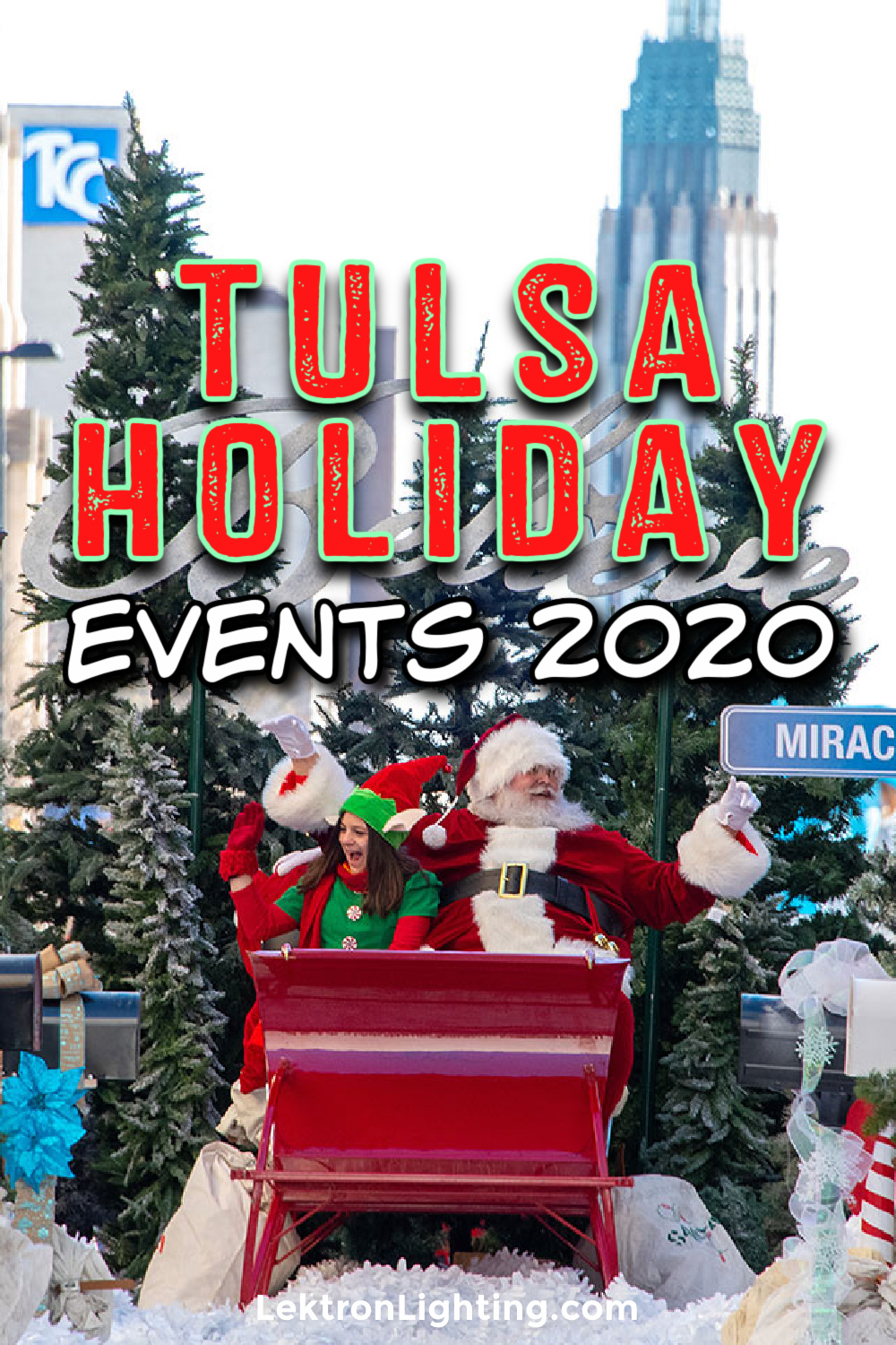The best Tulsa holiday activities 2020 will look a little different this time around but the magic and spirit of the season will be there in full force.