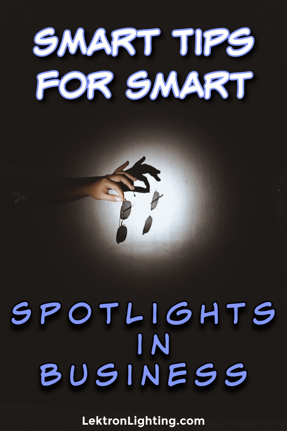 Smart spotlight tips for businesses can help put a spotlight on merchandise or on the safety of your employees outside the building.